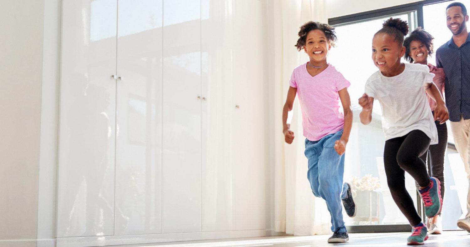 Kids Running and Playing Family Dentist Arlington VA